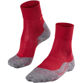 Falke RU4 Running Socks Women grey/red